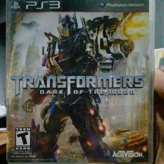 PS3 Games Original (Transformers, Way of the Samurai 3, Rainbow Six Vegas2, Brothers in Arms