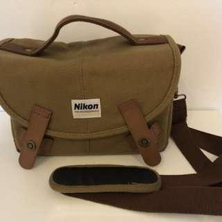 Nikon Khaki Safari Camera Bag