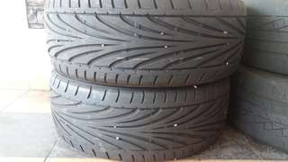 Toyo tires proxes t1r (215/45/17) for both tyres