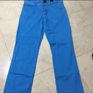H&M Slim Fit Blue Jeans - Size 32