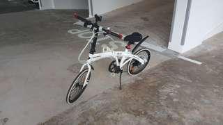 Hachiko HA-01 folding bike