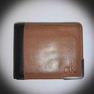 Original Calvin Klein Leather Wallet (Smooth Aviator)