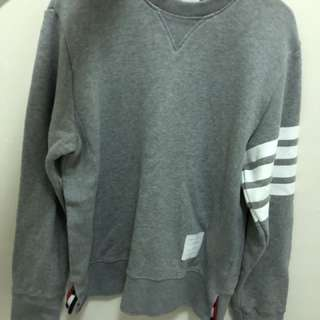 Thom Browne Engineered Sweat Grey