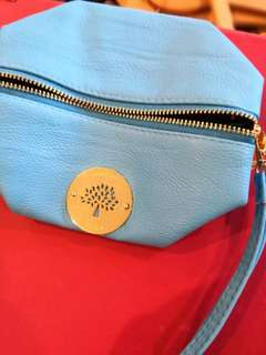 Light blue Mulberry Purse