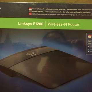 Wireless router E1200