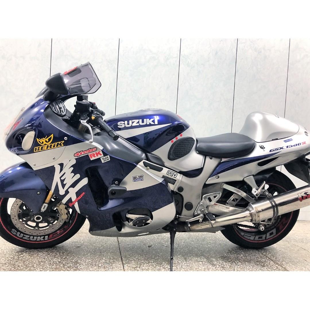 【長虹重機】2004 SUZUKI Hayabusa GSX1300R 隼