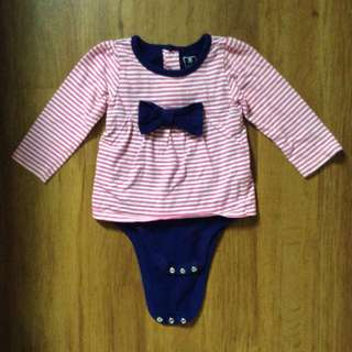 Old Navy Blouse Romper (12M)