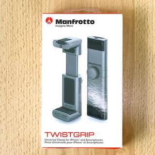 [BNIB] Manfrotto Twistgrip Universal Clamp for Smart-phone with Cold-shoe mount