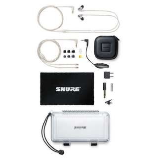 Shure SE846 Headphones Clear