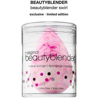 Open PO beauty blender