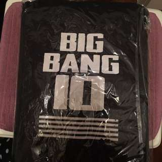 Bigbang 10週年官方長風褸