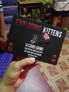 REPRICED!!! Exploding Kittens plus P45 shipping fee MM