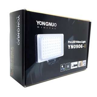 [BNIB] Yongnuo YN0906 Mk2 Pro LED Light and Flash
