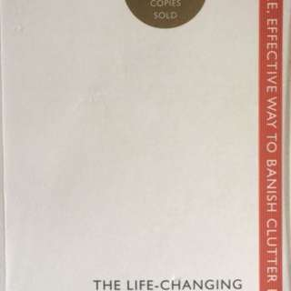 斷•捨。離 The Life- Changing Magic Of Tidying