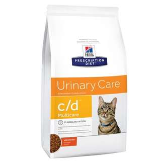 Hill's Prescription Diet C/D Urinary Care Dry Cat Food