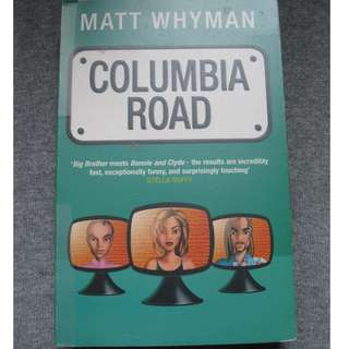 Columbia Road by Matt Whyman (FOC with any purchase)