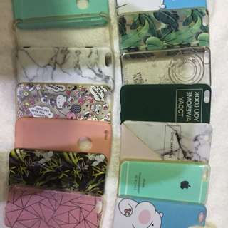 Assorted Iphone 6 cases