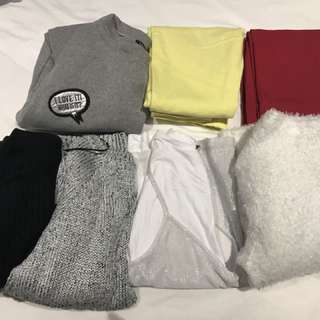 7 pieces bundle