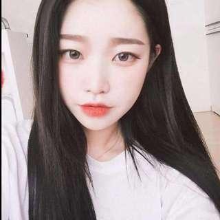 Instock Korean grey contact lens