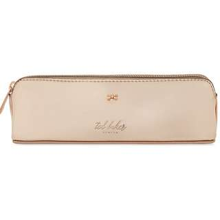 TED BAKER Leanora mirrored pencil case (Rose gold)
