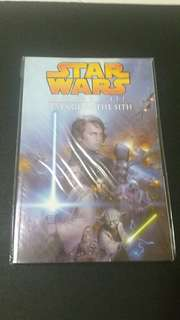 Star wars comic episode 3 book