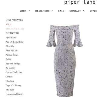 Piper lane lace dress- Size 6