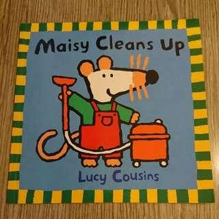全新英文故事書 - Maisy Clean Up
