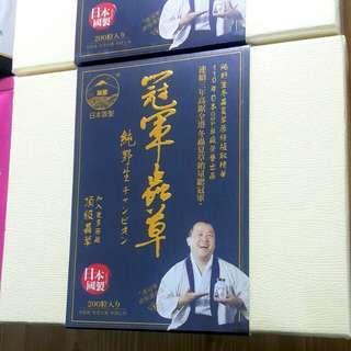 日本保健產品冠軍蟲草