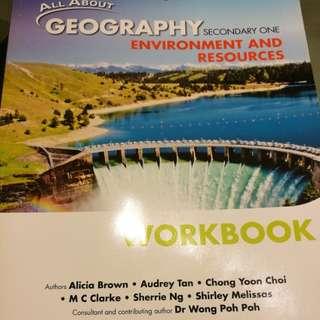 Sec 1 Geography Workbook