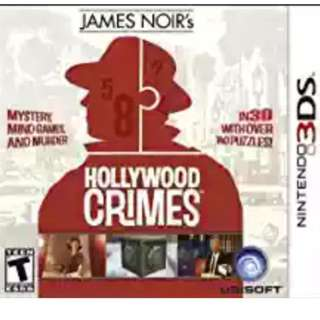 3DS Game: James Noir's Hollywood Crimes