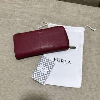 Furla Babylon Classic Zip Around Wallet