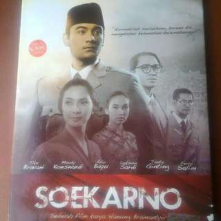 VCD asli film judul Soekarno