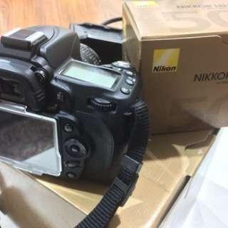 NIKON D90+50mm nikkor lens