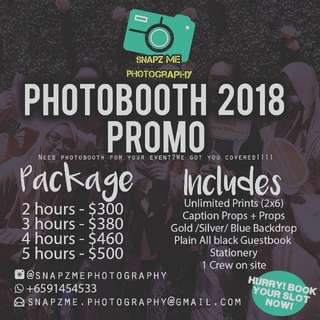 Photobooth Services for your event