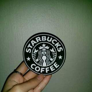 Starbucks rubber thing?¿