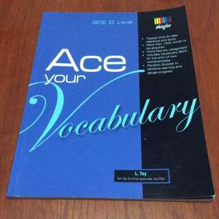 Ace your vocabulary O level English