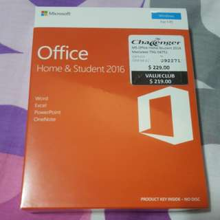 Microsoft Office 2016 (new)