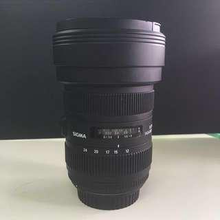 Sigma 12-24mm Canon mount