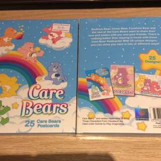 Bn care bear postcard
