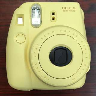 淡黃色Fujifilm instax mini 8 即影即有相機