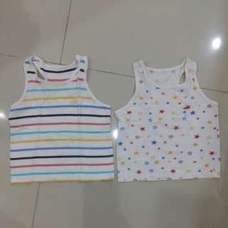 2 pcs Singlet Crocodile