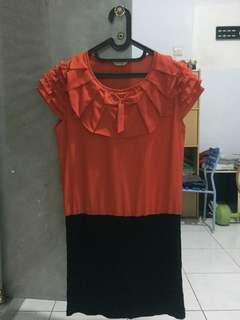 Dress red mersey