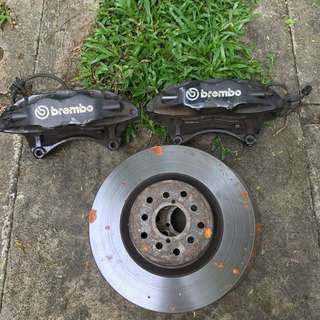 Brembo Brake Kit from WRX tuned by STI 5x100