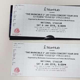 Jay Chou Concert Tickets