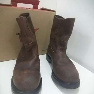 SAFETY BOOTS RED WING SHOES PECOS 8242