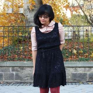 Esprit Black Lace Dress