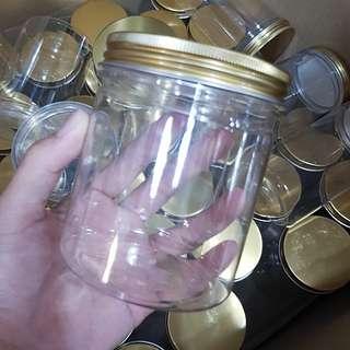 golden screw cap container