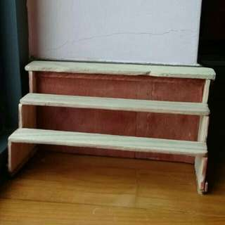 Rustic Miniature Stand/Shelving