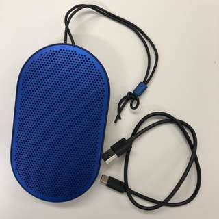 Beoplay P2 Bluetooth speaker, Royal Blue