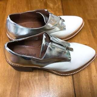 Jeffreycampbell 日本拼色牛津鞋 37號